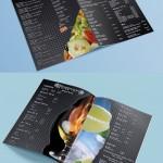 меню А4 с ламинат гланц